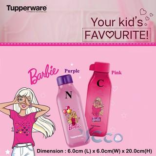 Tupperware 500ml Barbie Eco Water Bottle | Shopee Singapore