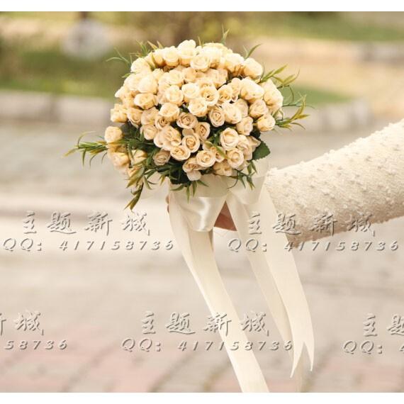 Simple Korean Rose Bouquets New Korean Version Of Artificial Flowers Bridal We Shopee Singapore