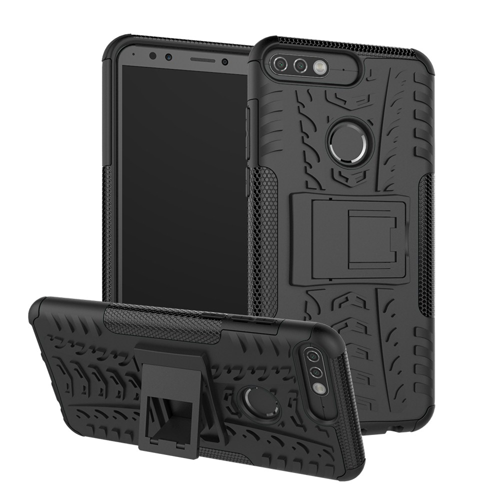 Huawei Y7 Prime 2018/Nova 2Lite Case Rugged Dual-Layer Cover