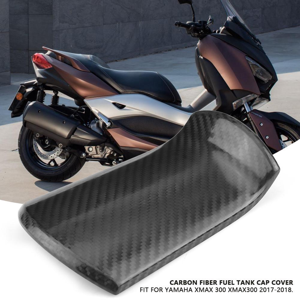 Motorcycle Carbon Fiber Fuel Oil Tank Cap Cover for YAMAHA