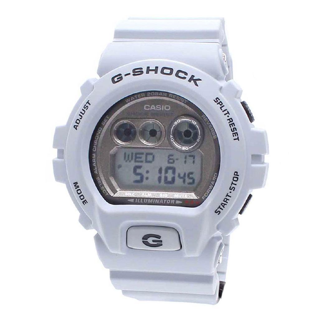 Casio G-SHOCK White Resin Case Resin Strap Mens NWT + Warranty GD-X6900LG-8D