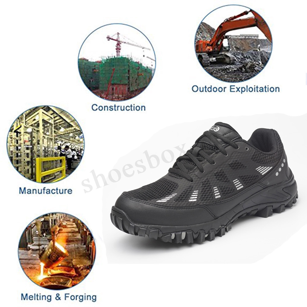 829ce63bc29 AtreGo Men's Athletic Safety Steel Toe Indestructible Bulletproof ...