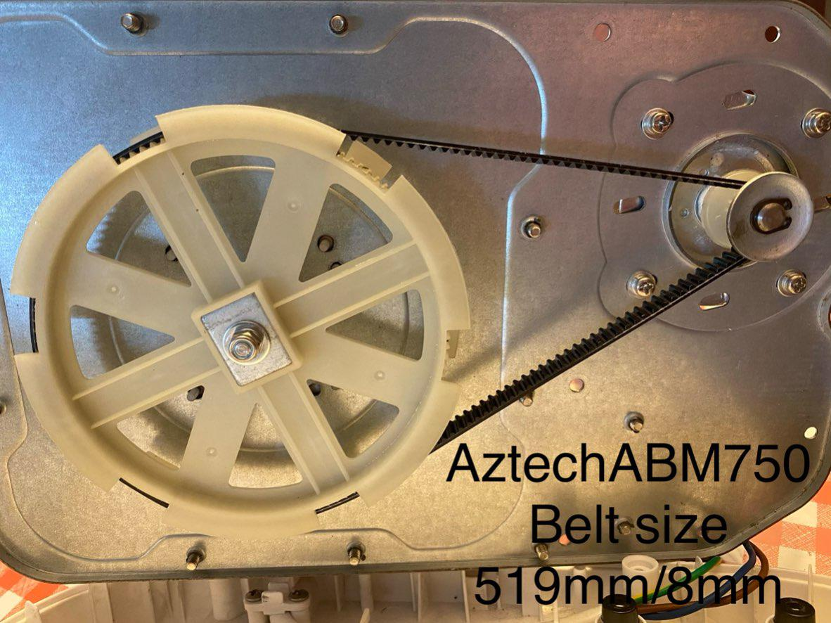 BQBQERT Automatic Bread Maker Machine Conveyor Belt Band Strap Perimeter 519mm Kitchen