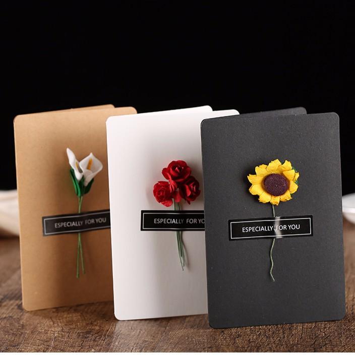 Thanksgiving Day Greeting Card 3D Sunflower Festival Flower Greeting CardMF