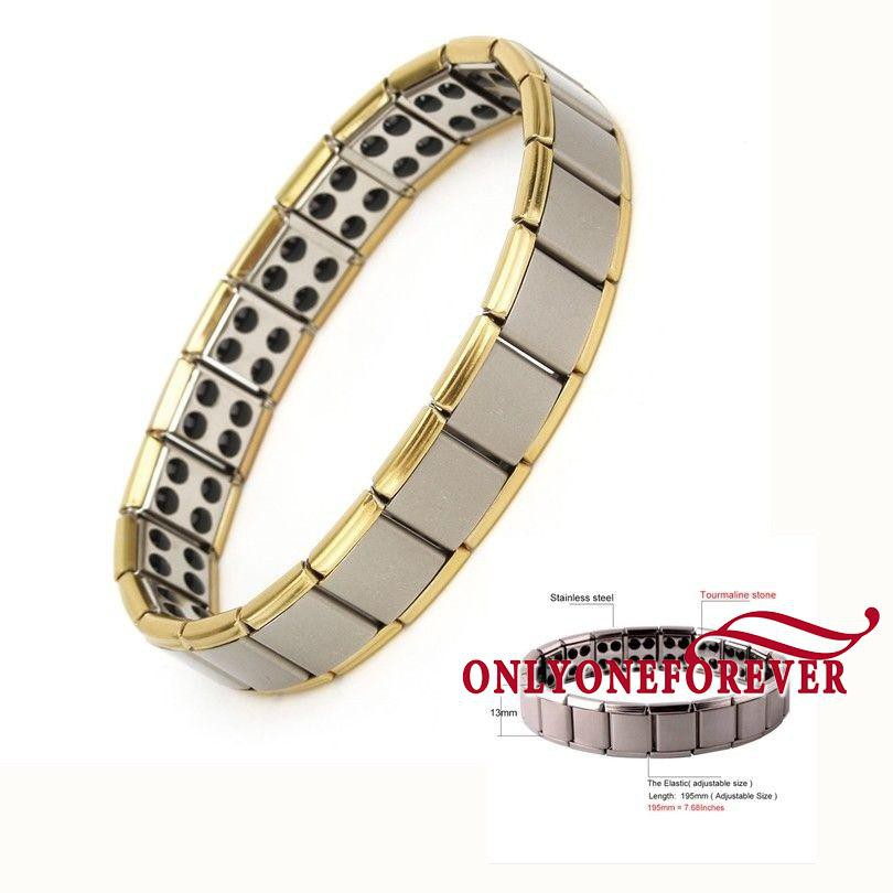762bb3f76c8 ☆Fashion Men s Punk Stainless Steel Chain Wristband Clasp Cuff Bangle  Bracelet