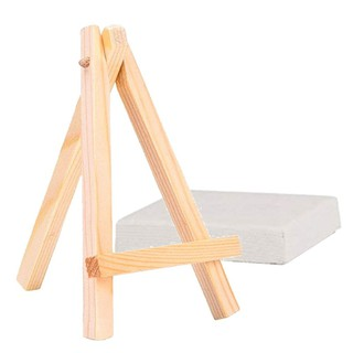 Mini Wooden Table Top Display Easel Pack of 1 3 5 10