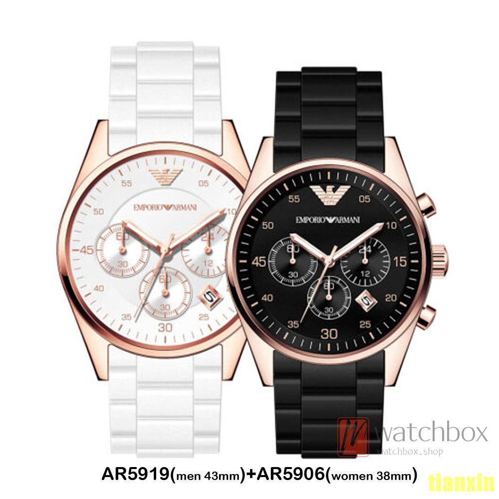 648930f7 Emporio Armani Fashion Quartz Men And Women Couple Watches  AR5905/AR5906/AR5920