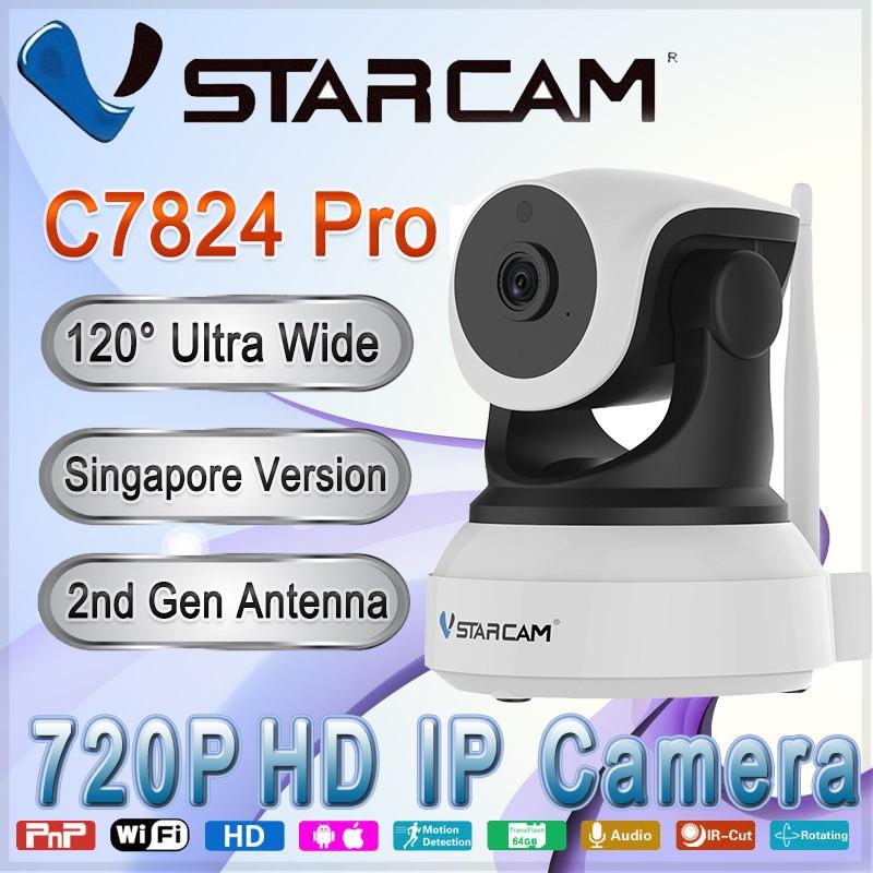 Vstarcam C7824 Pro Wide Angle Wireless IP Camera
