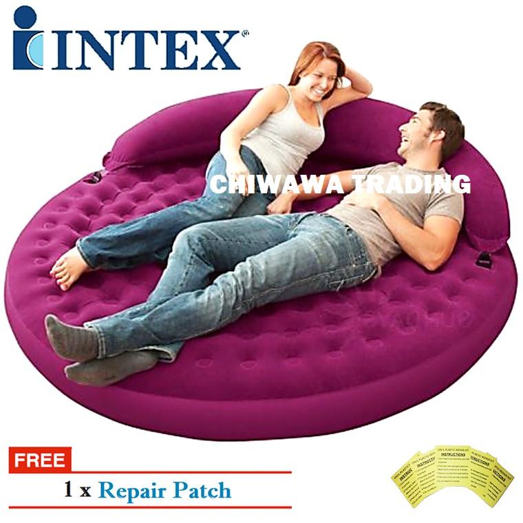 2in1 Intex Inflatable Air Mattress
