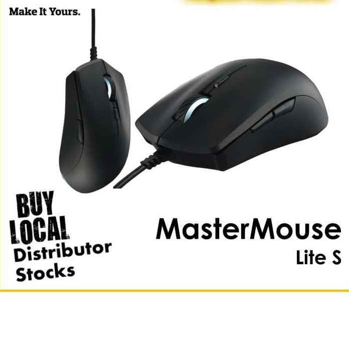 CoolerMaster MasterMouse Lite S Gaming Mouse