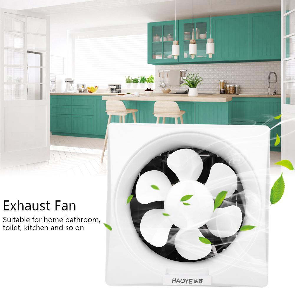 Fantastic 220V Bathroom Ventilator Window Fan Shutter Exhaust Noise Home Interior And Landscaping Eliaenasavecom