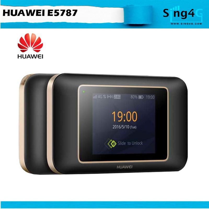 Touch Screen 4G LTE MIFI Huawei E5787 cat 6 300Mbps Mifi