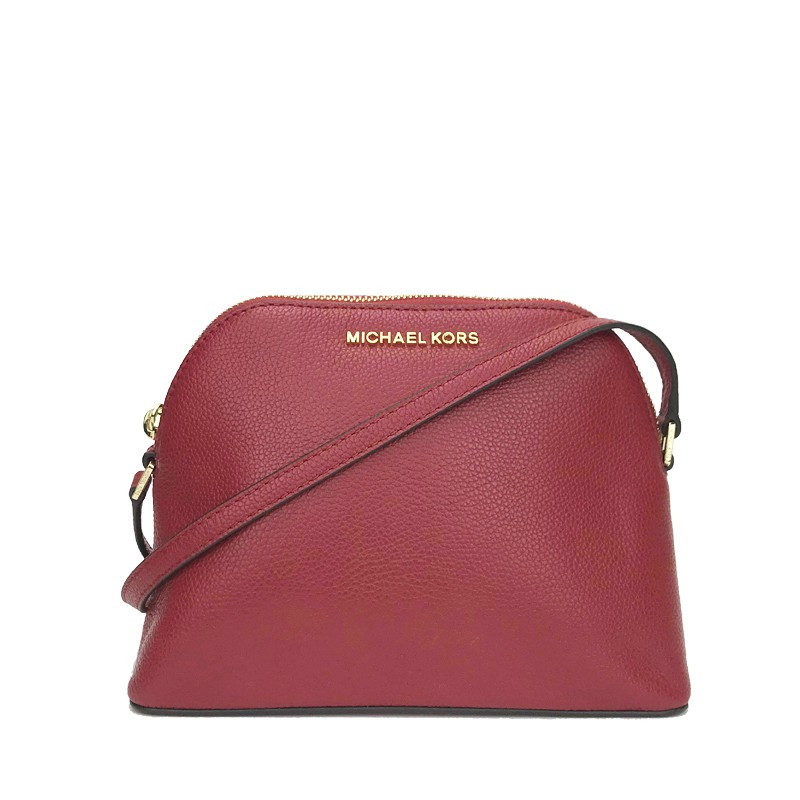 32fb2e2f06c2 Michael Kors Adele Medium Dome Crossbody Scarlet