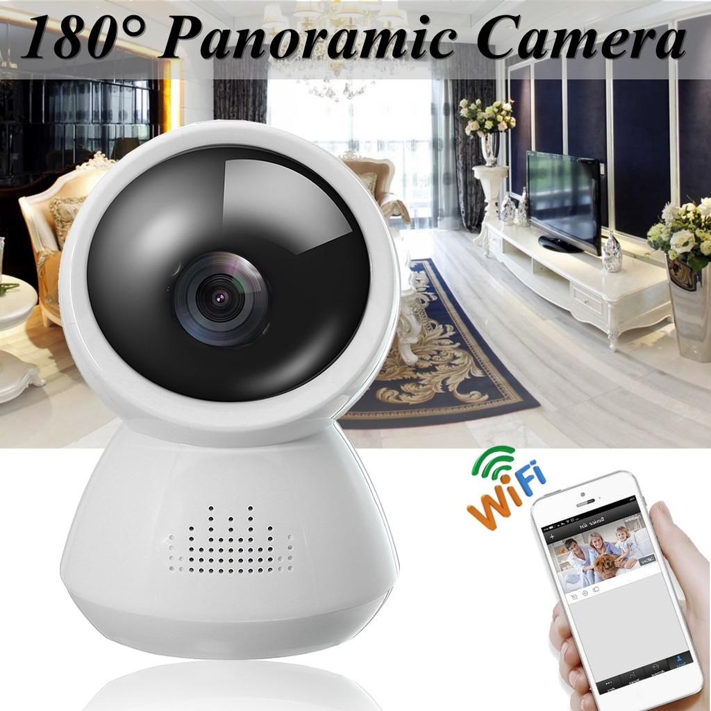 180° 1080P IP Panoramic Camera Wireless Wifi Home Security CCTV Voice  Intercom