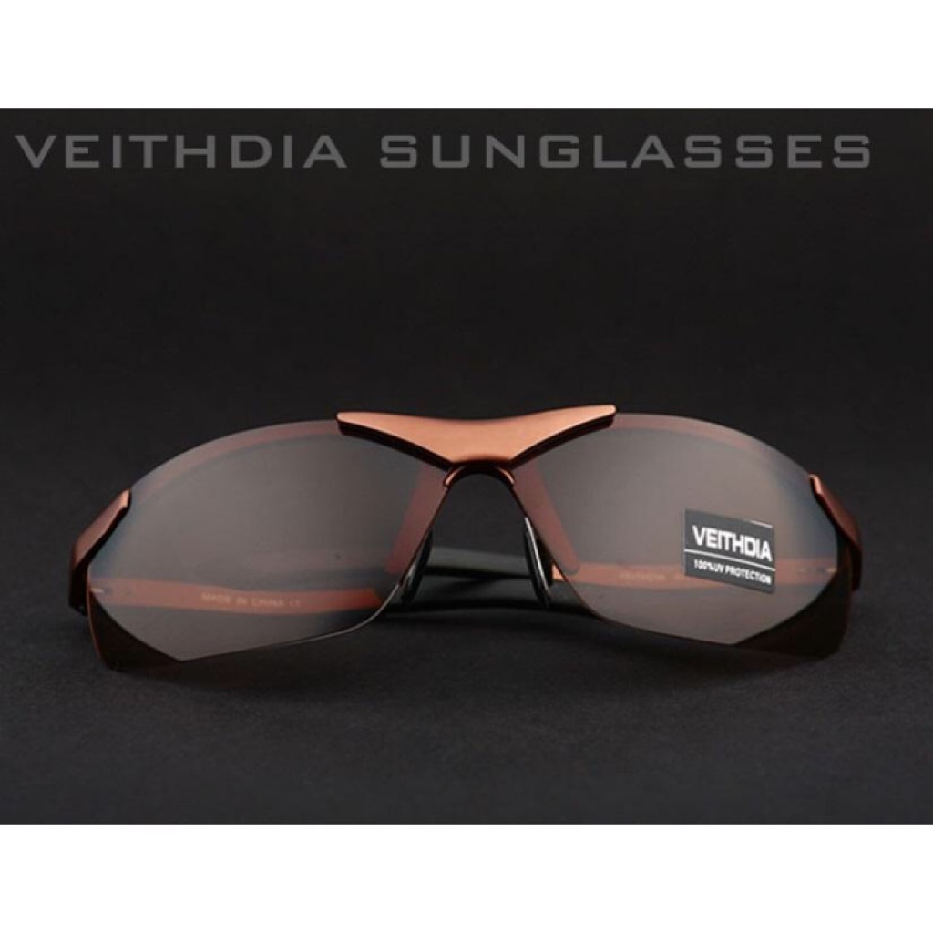 7d2a1cff25 Original Veithdia Sunglasses - Men Model 001