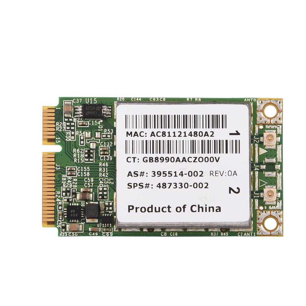 2 4G + 5G Dual-Band PCI-E WIFI Card for HP/ MAC/ DELL/ Acer