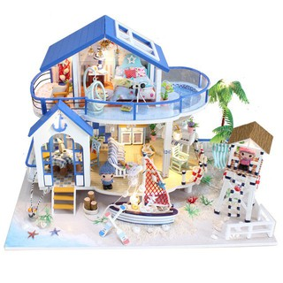 Miniature Diy Doll House Wooden Miniature Dollhouses Furniture