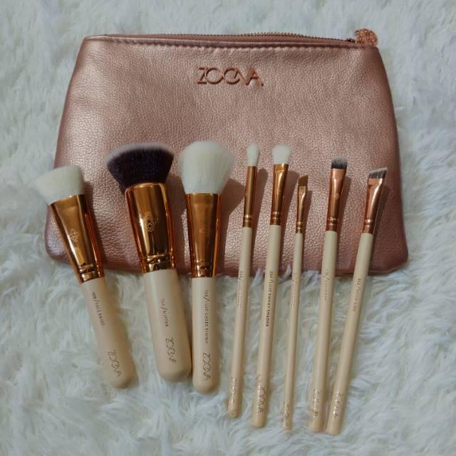 Premium 8 Pcs Luxury Makeup Brush Set