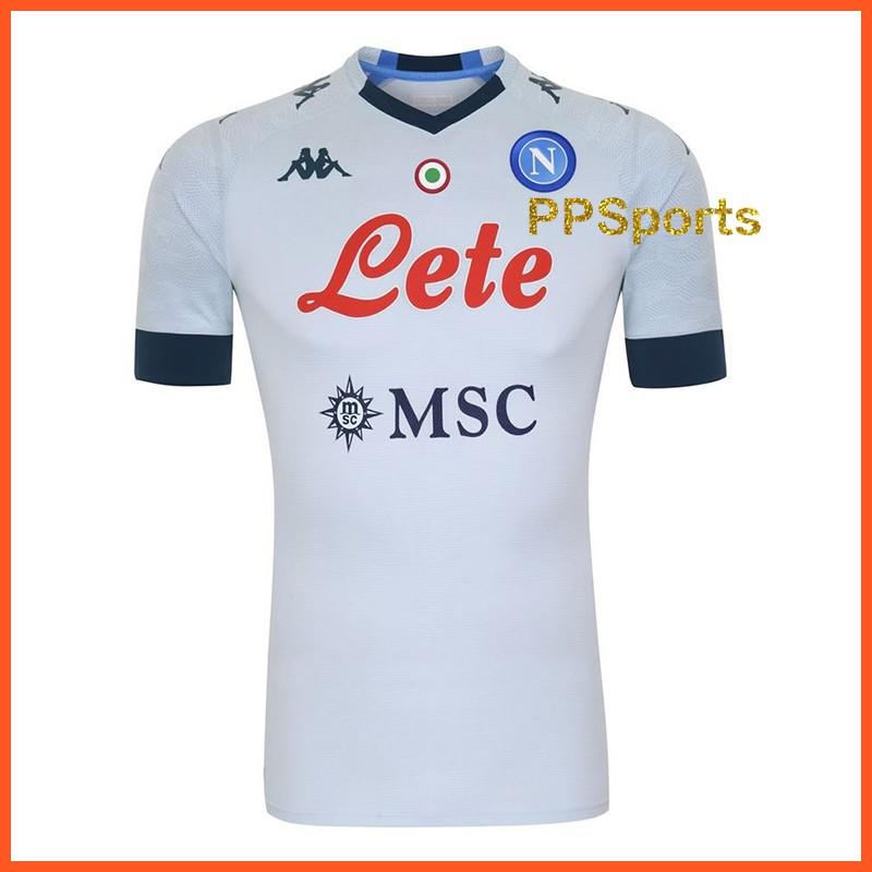 Top Quality Ssc Napoli Away Shirt Mens Lorenzo Insigne Football Jersey 2020 2021 Shopee Singapore