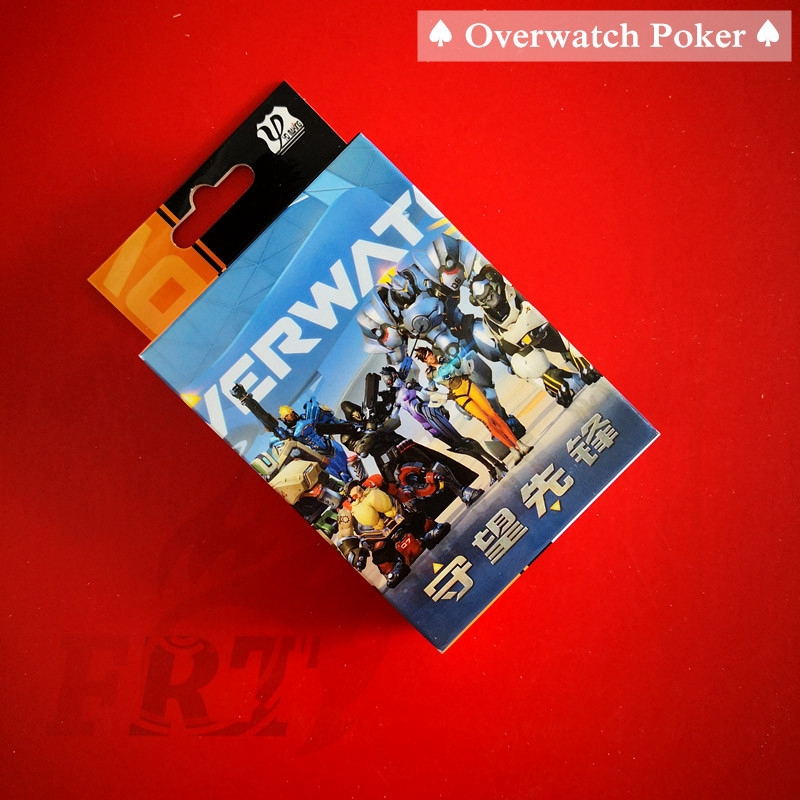 >Ready Stock< ♠ Overwatch Poker ♠ OW Playing Cards Poker (Versions:A-2)