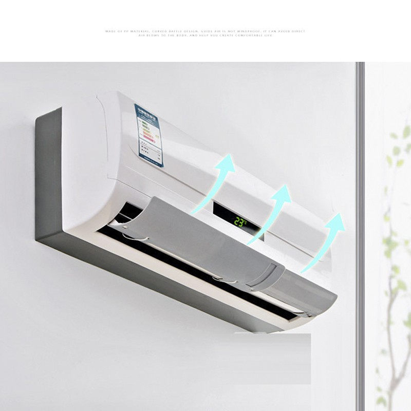 Air Conditioner Wind Shield Wind//Gas Deflectors Anti Direct Blowing Baffle UK