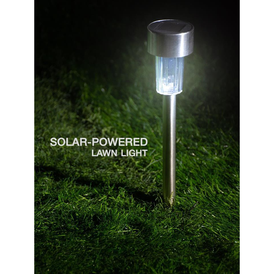 1pc Solar Powered Lawn Light Garden Lights Solar Powered Shopee Singapore