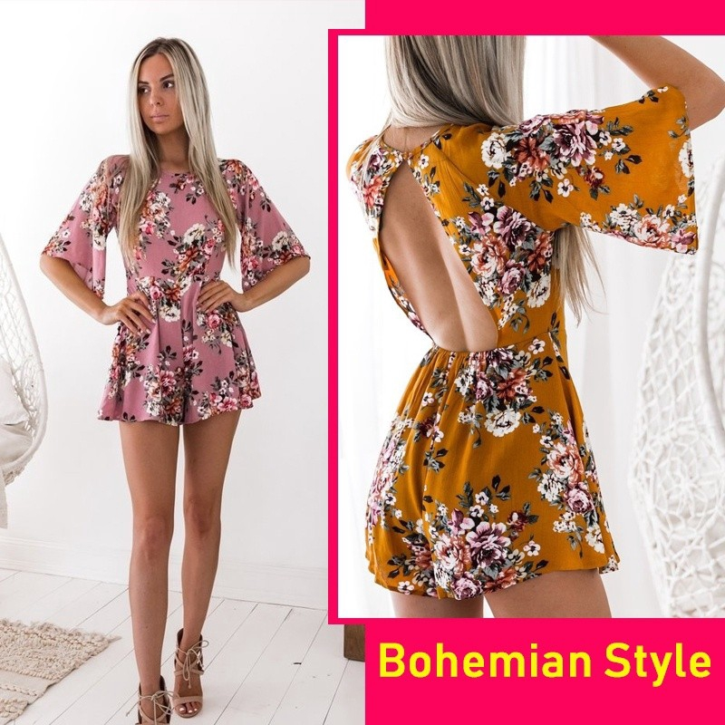 d78e8a091bf2 bohemian romper - Playsuits   Jumpsuits Price and Deals - Women s Apparel  Apr 2019
