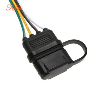 4Pin 12V US Trailer Hitch Wiring Tow Harness Power ...  Pin Hitch Wiring Harness on