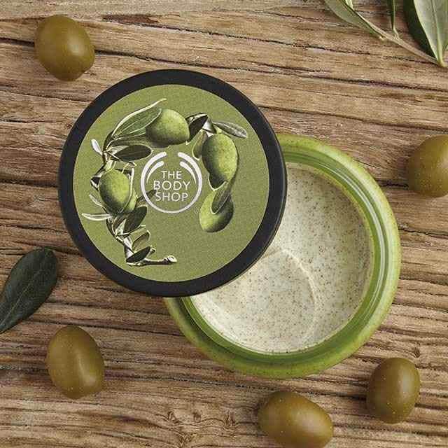 The Body Shop Olive Exfoliating Cream Body Scrub (250ML) | Shopee Singapore