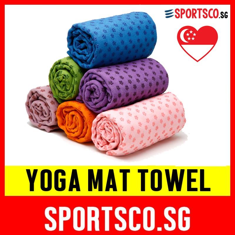 Yoga Towel Microfiber Lengthen Pilates Pad Classic Printed Antislip Yoga Mat