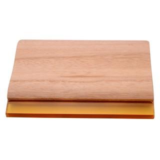 ✿bbyes✿Silk Craft Screen Printing Squeegee Wooden Handle