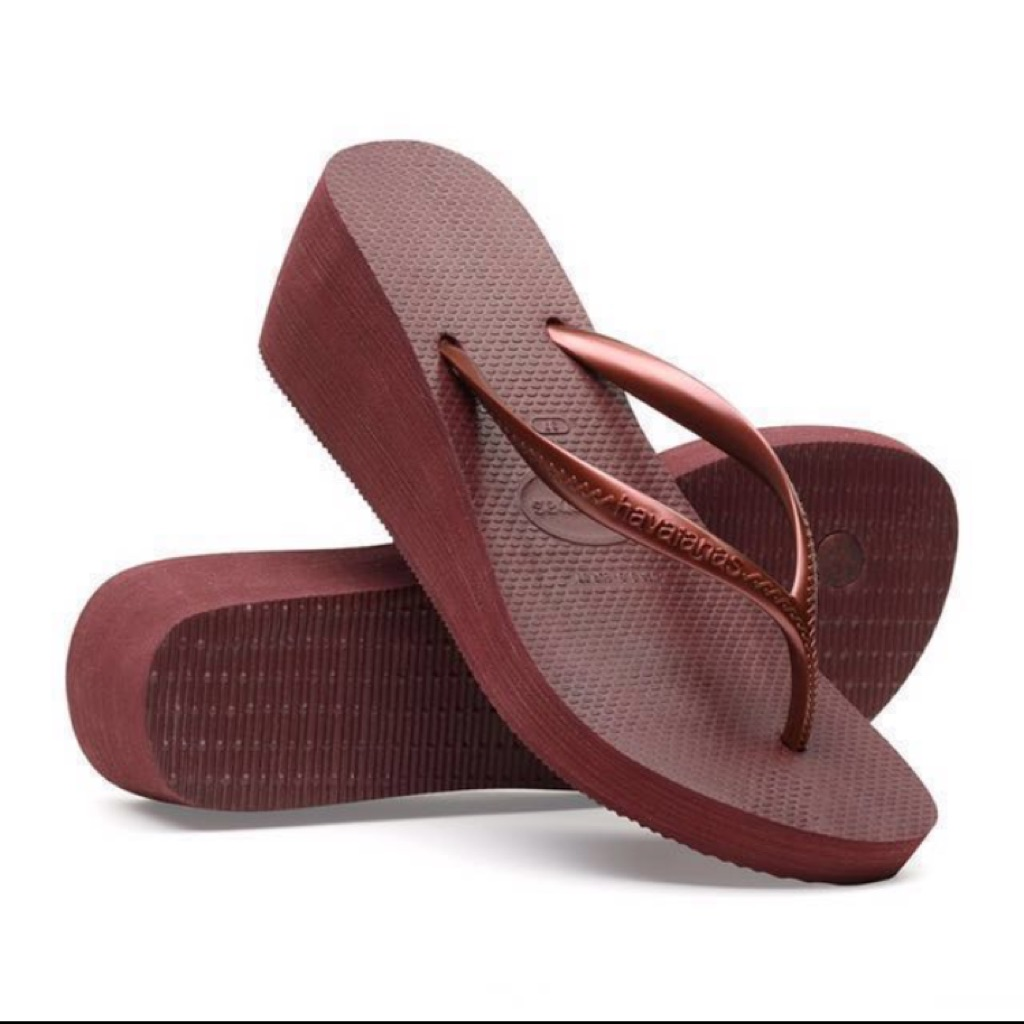 muotityyli esikatselu verkkokauppa Havaianas High Fashion Women's Wedges 11.11 Sale! - LOWEST PRICE GUARANTEED!