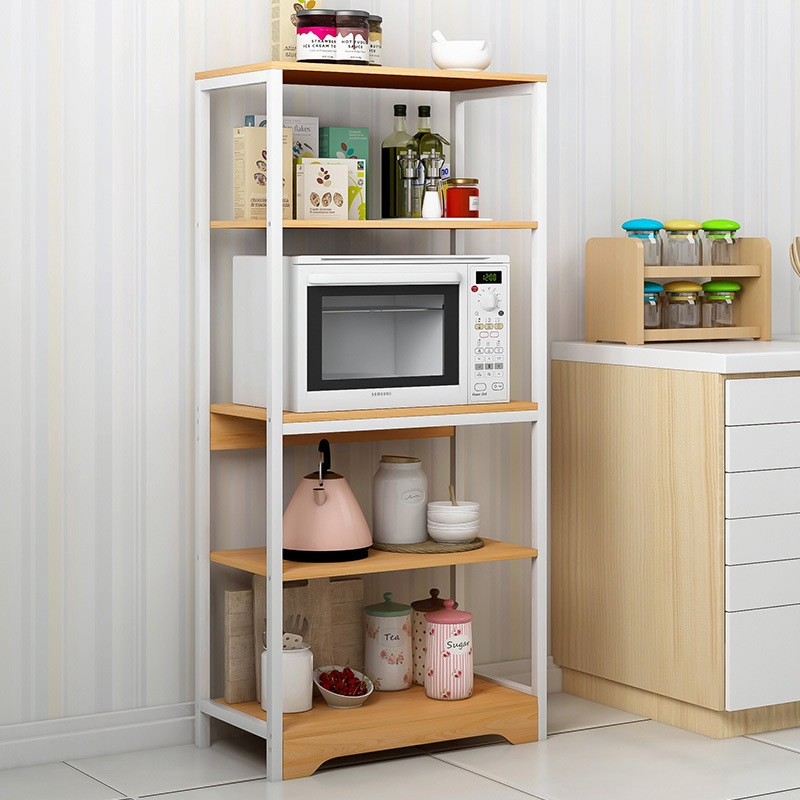 Household Cabinets 100 Solid Wood Storage Cabinet Floor Standing Kitchen Rack Without Formaldehyde Shopee Singapore