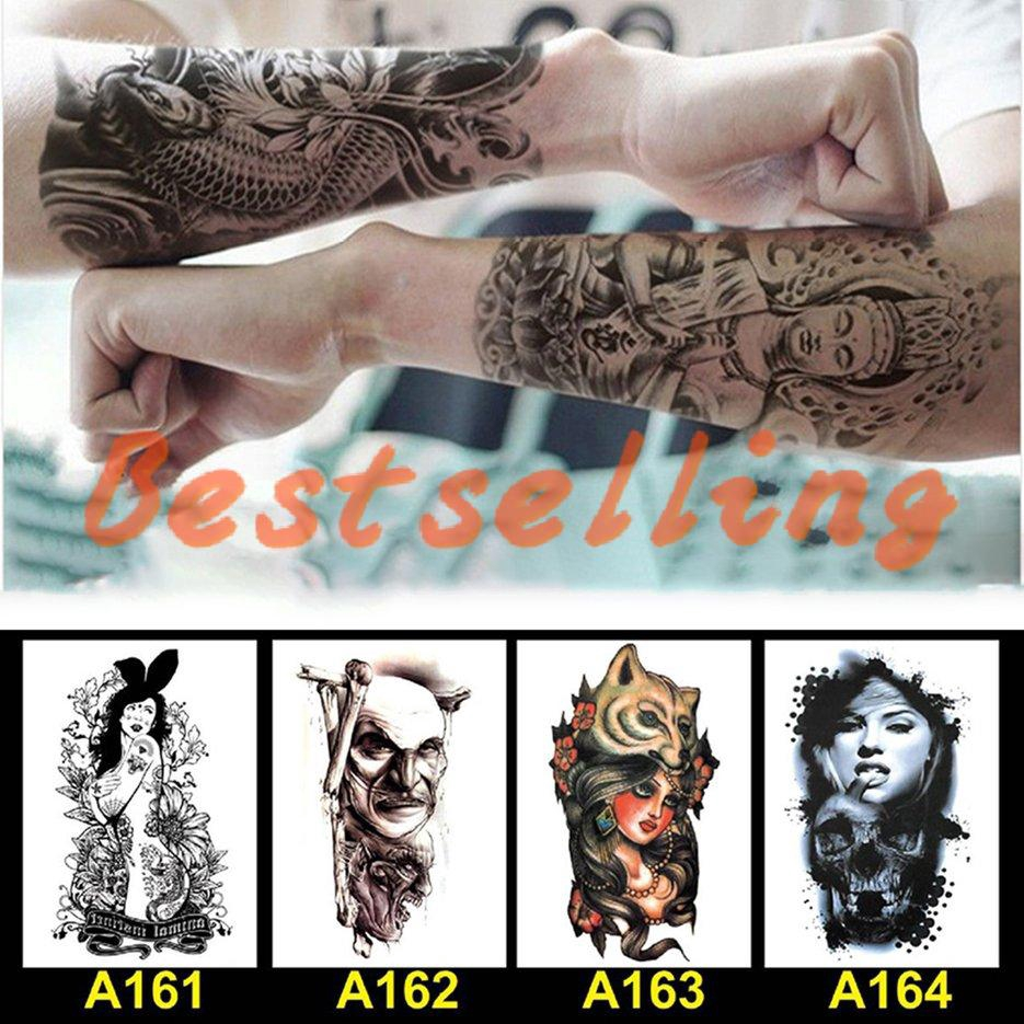 Best Temporary Tattoo Arm Sleeve Tattoo Waterproof Sticker Tatoo Body Art Tattoo Shopee Singapore