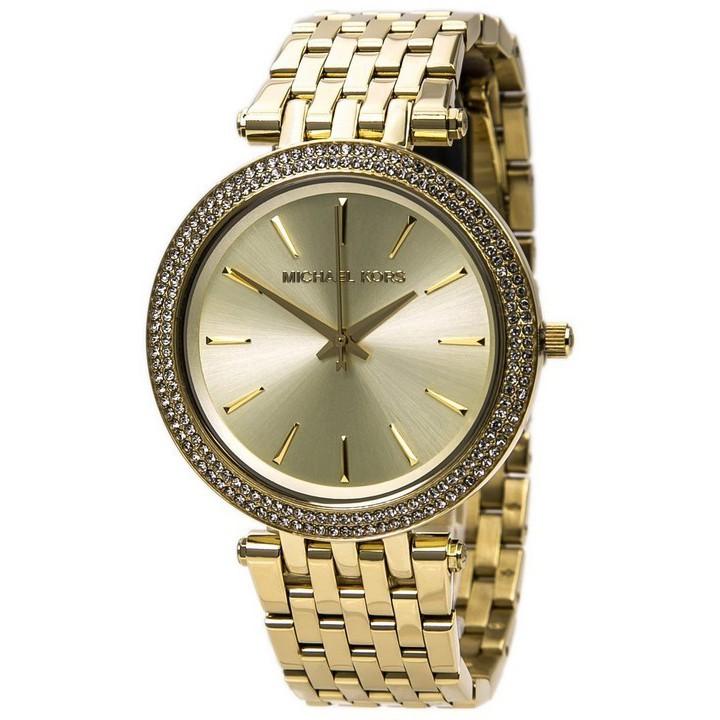 fd3d121e87b3 Original MK Michael Kors Gold-Tone Acetate Parker Watch MK6119 ...