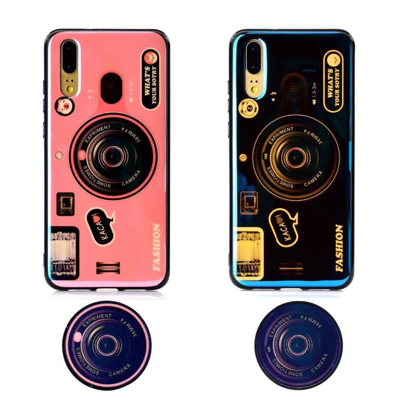 HUAWEI Nova 2i 2 Lite 3e Nova 3i Blue Ray Camera Soft Phone Case