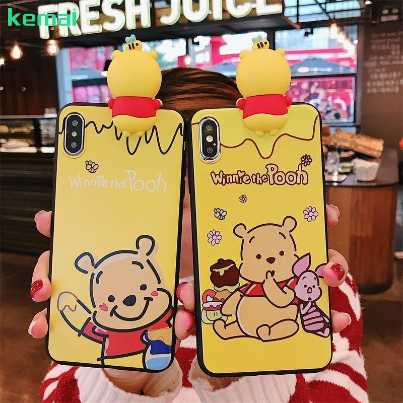 VIVO Y67(V5)/Y71 Cartoon Case Y75(V7)/Y79(V7P)/Y93/Y97 Cute Bear Pooh Soft casing