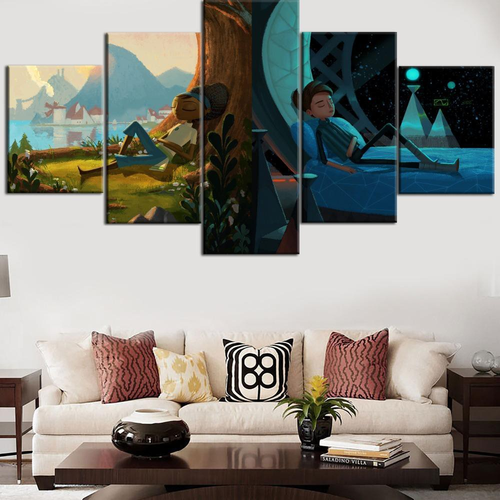 Canvas Painting Broken Age Type