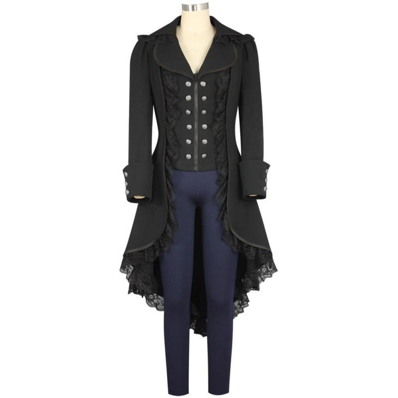 b722c20ad Jacket Tailcoat Gothic Victorian Coat Steampunk | Shopee Singapore
