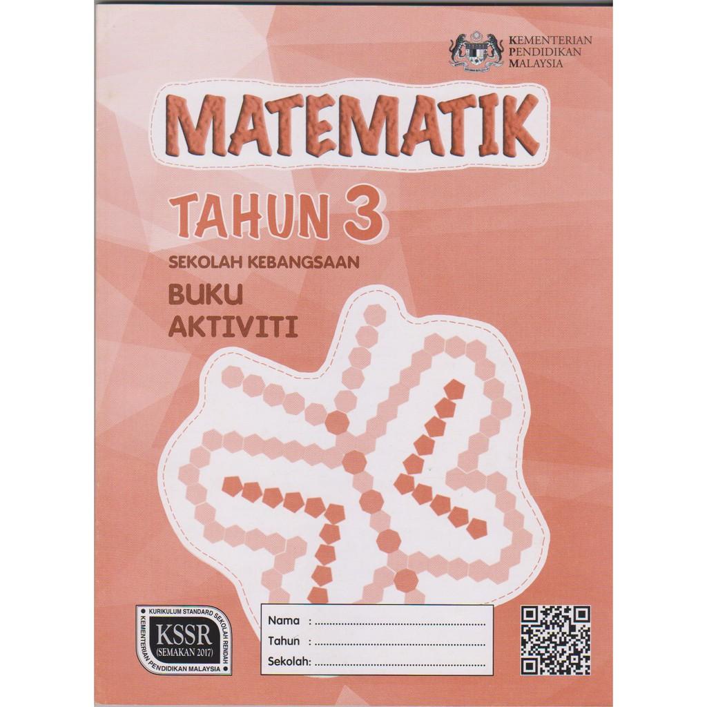 Buku Aktiviti Matematik Tahun 3 Sekolah Kebangsaan Shopee Singapore