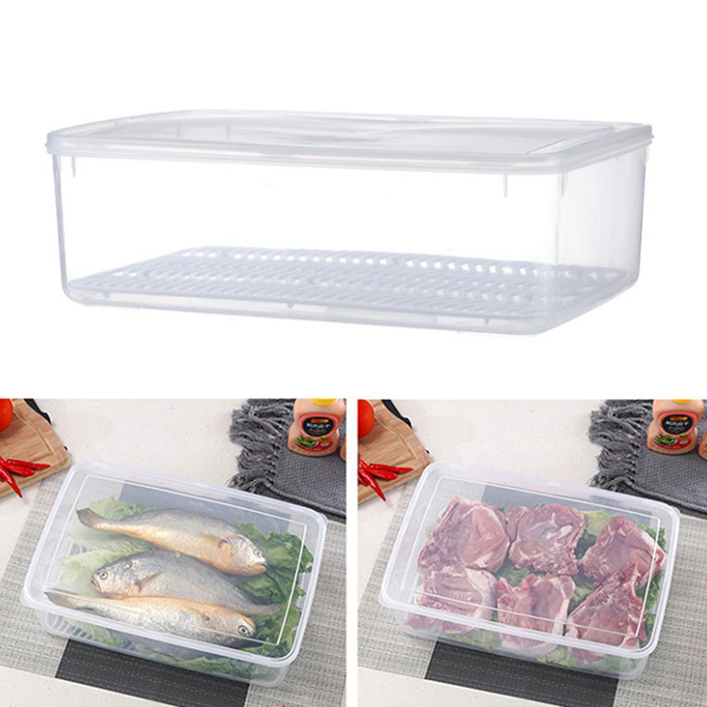 1 pack Plastic Freezer Storage Container with Lid