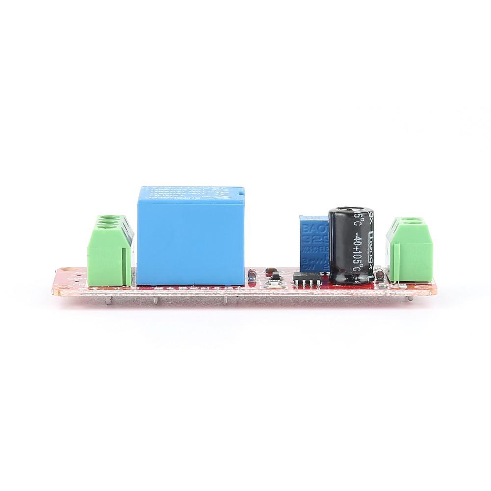 Ne555 12v Delay Adjustable Timer Relay Switch Module 0 10 1pcs Dc Turn On Off Second Oscillatorapwx
