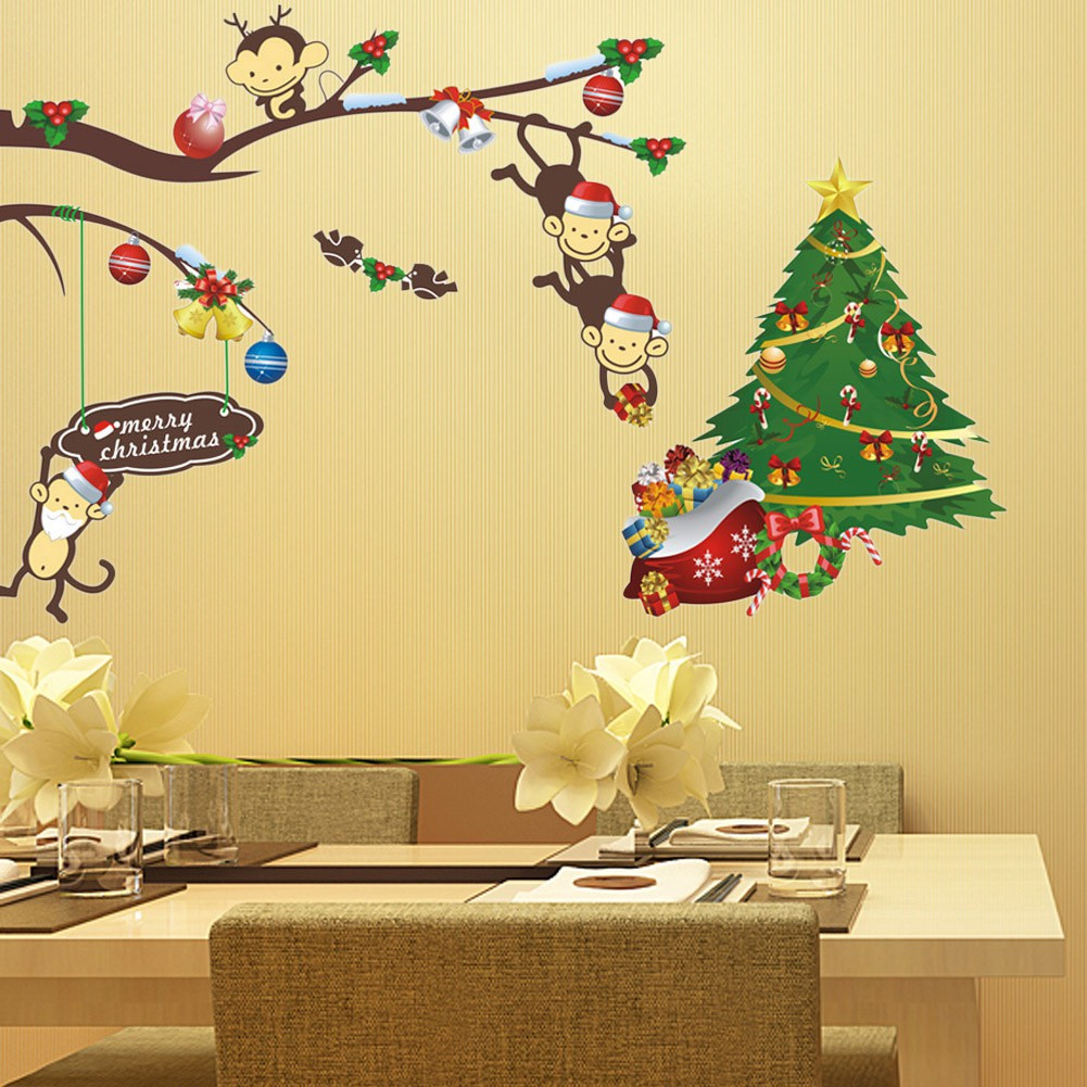 Nice Christmas Wall Art Stickers Picture Collection - The Wall Art ...