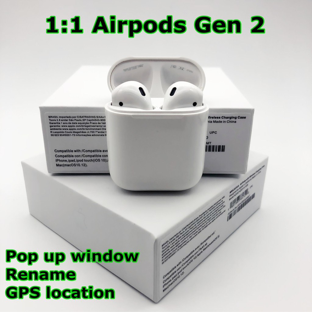 apple airpods gen 1 box
