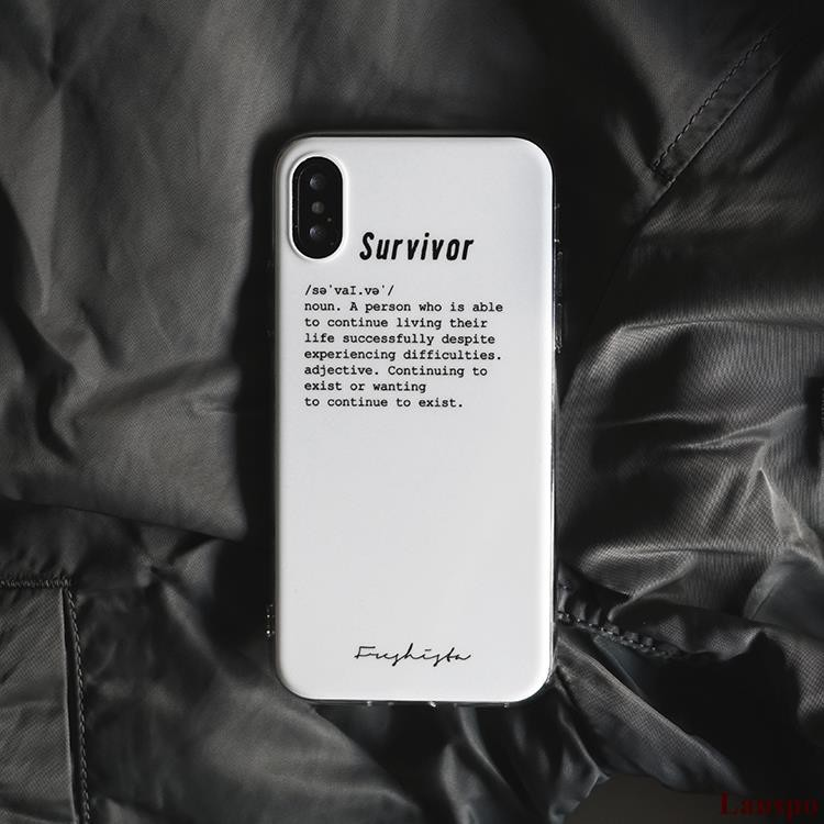 Survivor White Apple 8Plus 7 Mobile Shell iPhoneXr All