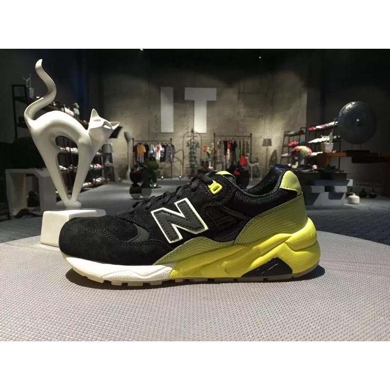 NB580 MRT580UG Black Green Men Women Jogging Shoes Sport Sneakers