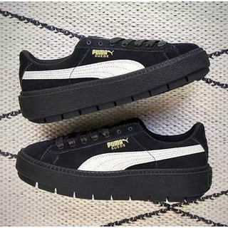 best collection picked up excellent quality Puma Suede PLATFORM TRACE