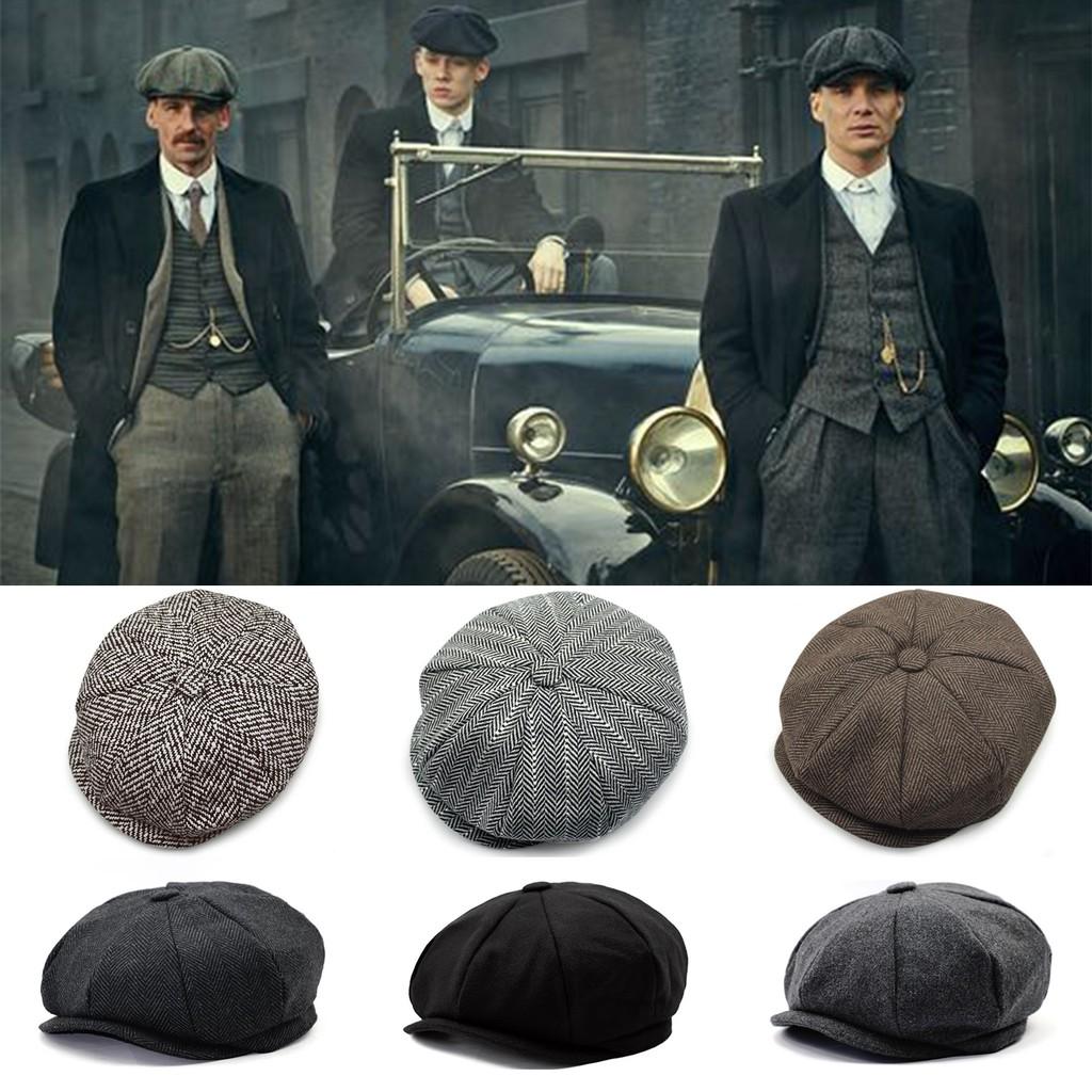 Peaky Blinders Cap Mens Baker Boys Shelby Hat