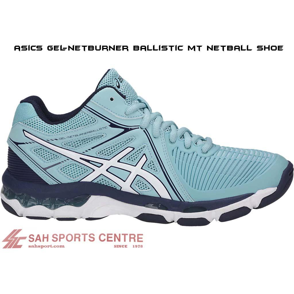 7d543b8f5d0f Asics Gel Netburner Ballistic MT Netball Shoe B558Y-1401