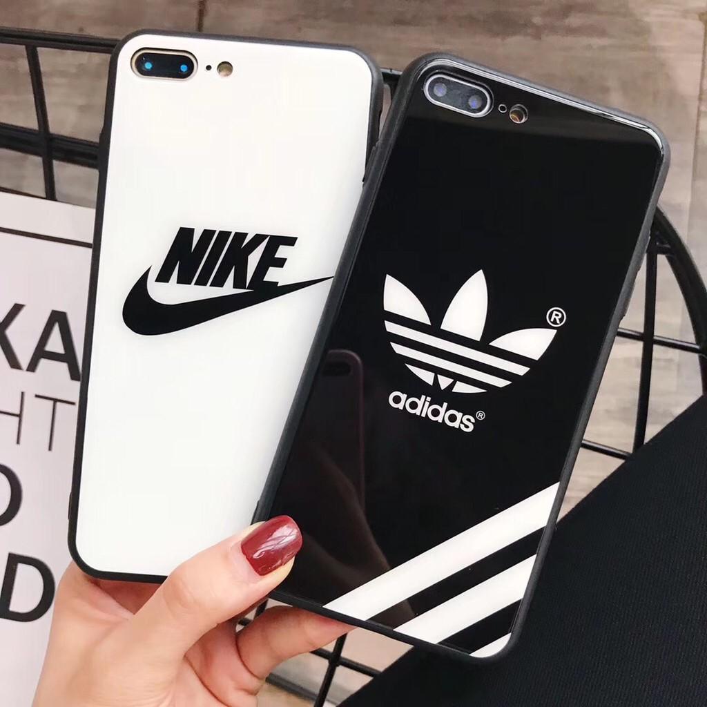 Nike Adidas Design Iphone 6 6s 7 8 Plus X Xr Xs Max Case Glass